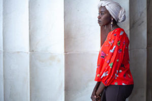 UNHCR Goodwill Ambassador and Sudanese-American slam poet Emi Mahmoud visits United States national monuments in Washington, DC before her performance at the 2018 Girl Up Leadership Summit. ; UNHCR Goodwill Ambassador and Sudanese-American slam poet Emi Mahmoud visited Washington, DC to perform her poetry and advocate for refugees as a plenary speaker at the 2018 Girl Up Leadership Summit. Over 400 young leaders from around the world attended the summit to learn new skills and empower each other to advocate for important issues.