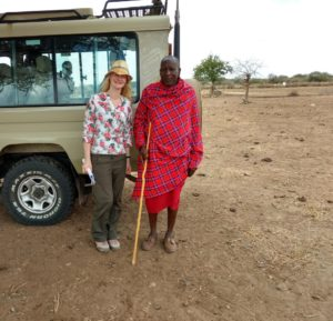 Naomi Bull, Research Fellow, Royal Veterinary College and Maasai